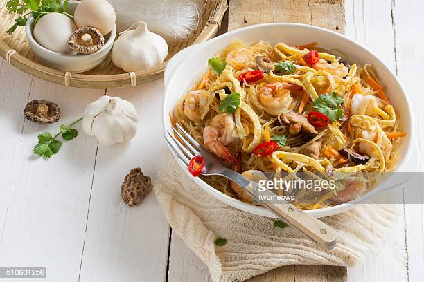 Chinese style fried rice vermicelli.