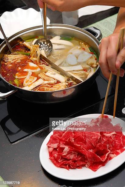 Chinese style hotpot