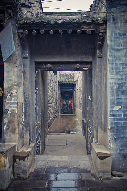 Chinese style old doorway