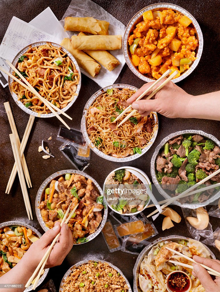 Chinese Take Out : Stock Photo