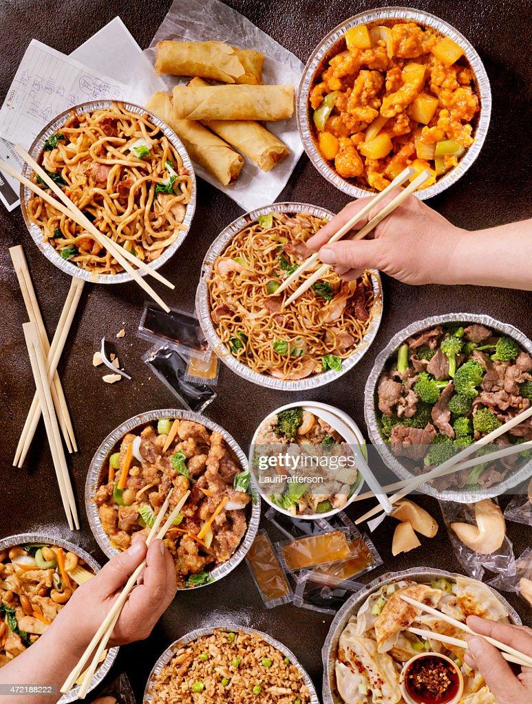 Chinesische zum Mitnehmen : Stock-Foto