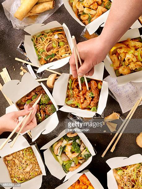 chinese take out - take away food stock pictures, royalty-free photos & images