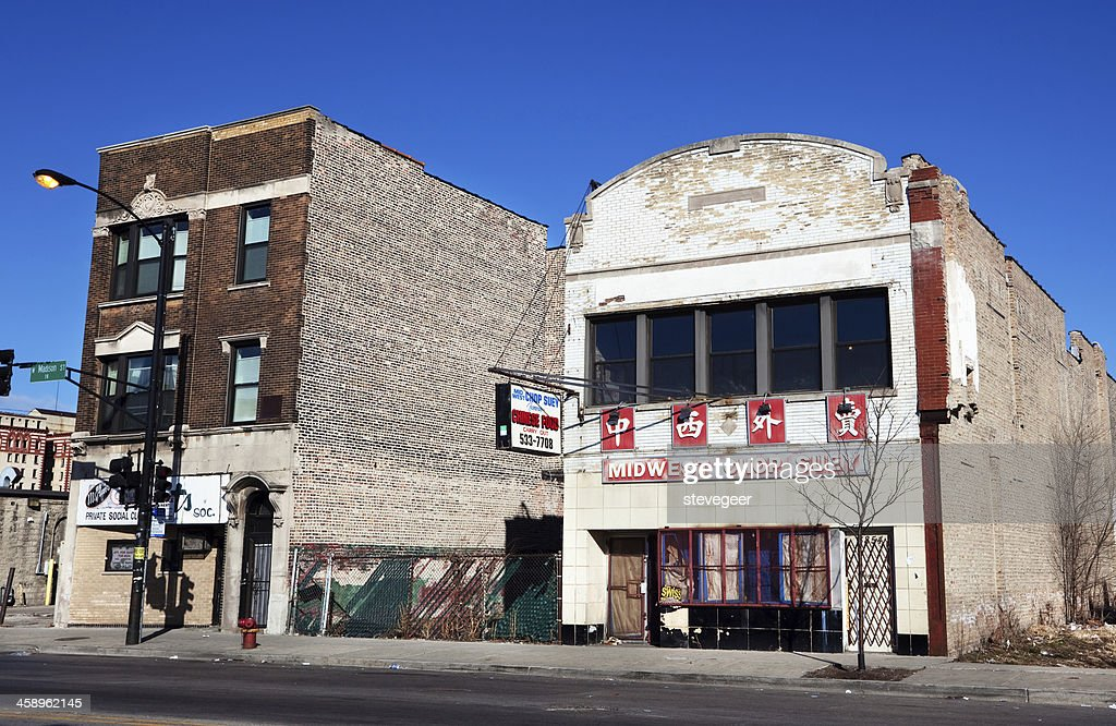 Chinese Takeaway Restaurant In West Garfield Park Chicago High Res Stock Photo Getty Images