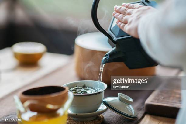 chinese tea ceremony - ceremony stock pictures, royalty-free photos & images