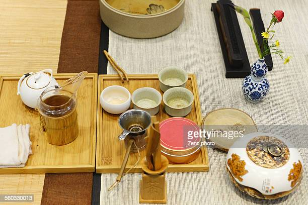 Chinese tea set for tea ceremony