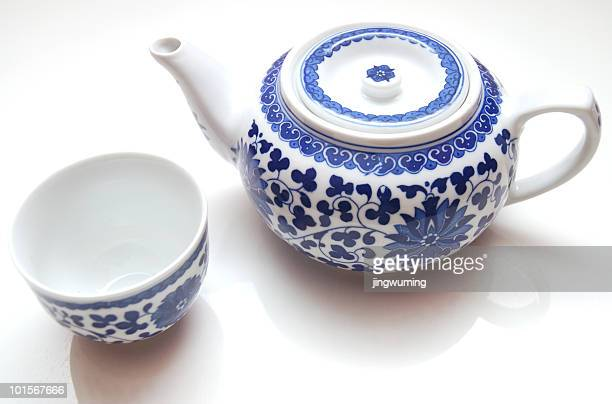 Chinese Teapot in white background