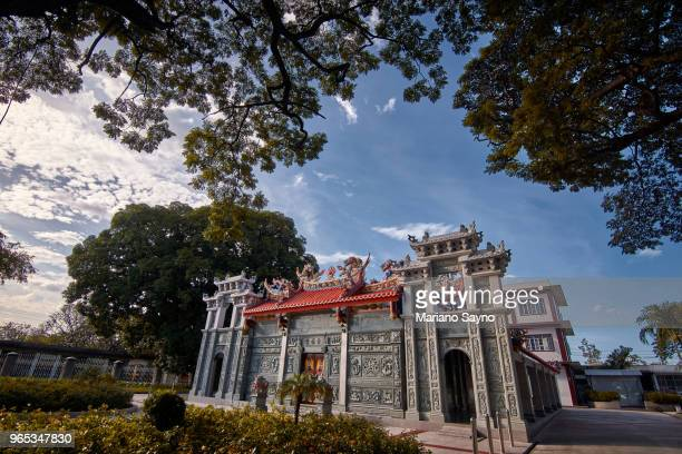 chinese temple - old manila stock pictures, royalty-free photos & images