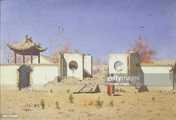 A Chinese Temple Ruin in Akkent 18691870 Found in the collection of the State Tretyakov Gallery Moscow