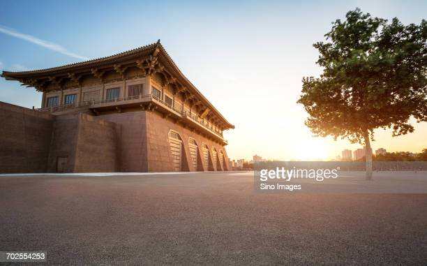 Chinese traditional castle