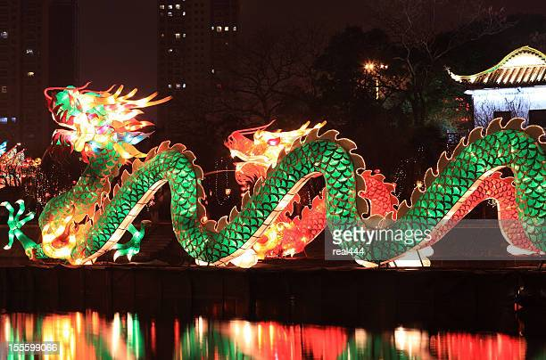 Traditionelle chinesische Drache Laterne