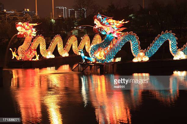 Chinese traditional dragon lantern