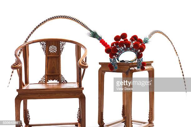 Chinese traditional furniture and traditional opera culture