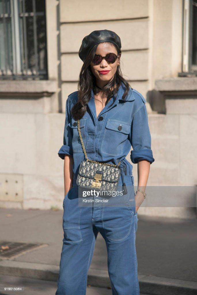 119119c04b29 Chinese TV host Linda Li Jing wears a Dior jumpsuit