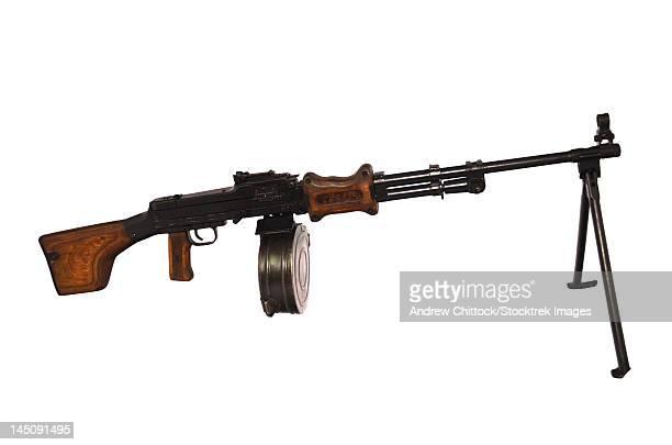chinese type 56 light machine gun. - machine gun stock pictures, royalty-free photos & images