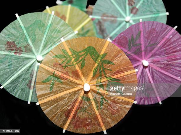 Chinese umbrellas for cocktail