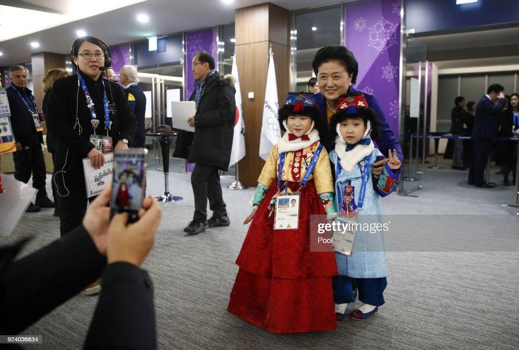 Ivanka Trump Attends Day 16 of PyeongChang Winter Olympics