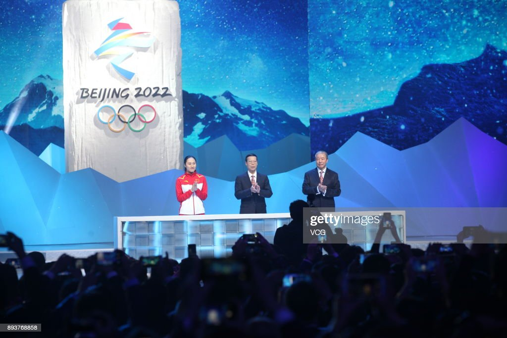 Emblems Launch Ceremony For Beijing 2022 Olympic And Paralympic Winter Games