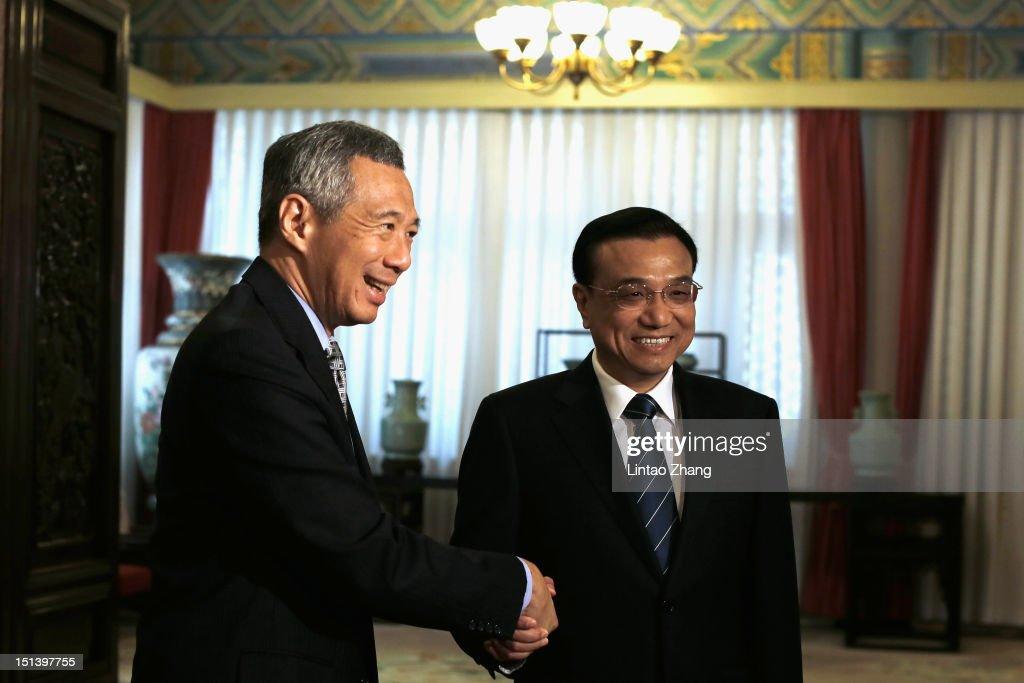 Singaporean Prime Minister Lee Hsien Long Visits China