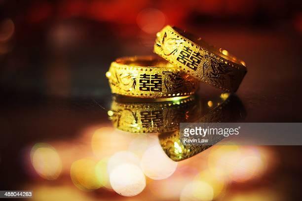 Chinese Wedding Bracelet (Dragon and Phoenix)
