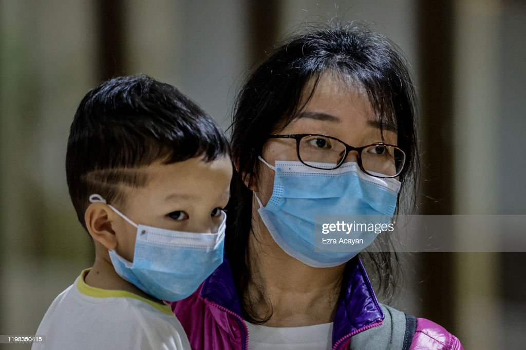 Concern In The Philippines As Wuhan Coronavirus Spreads : News Photo