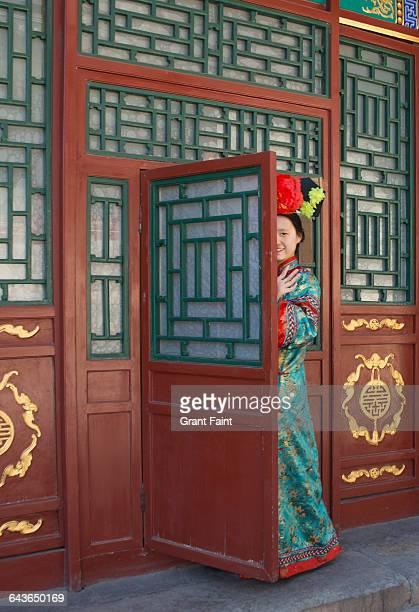 Chinese woman.
