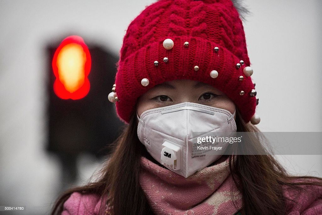 Beijing Issues Red Alert On Air Pollution For The First Time : News Photo