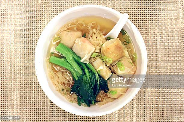 Chinese Wonton Soup Noodles