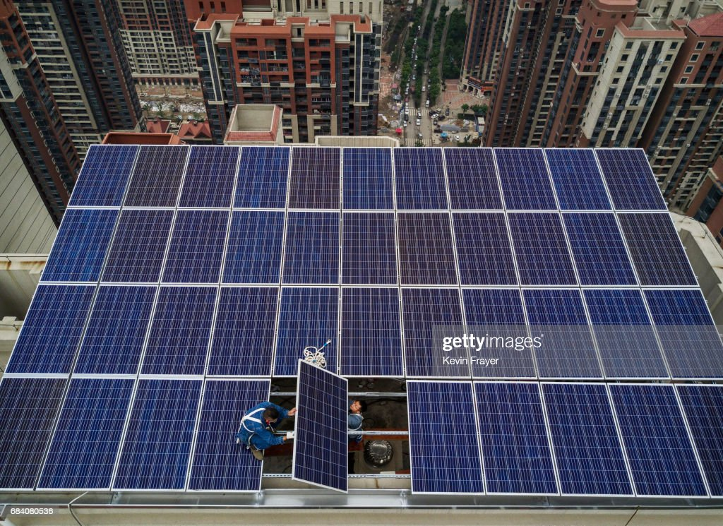 China Powers Market for Solar Energy : News Photo
