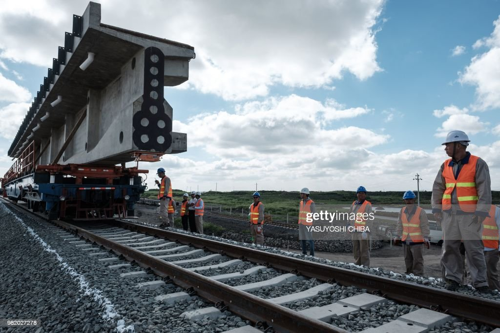 KENYA-CHINA-TRANSPORT-RAILWAY : News Photo