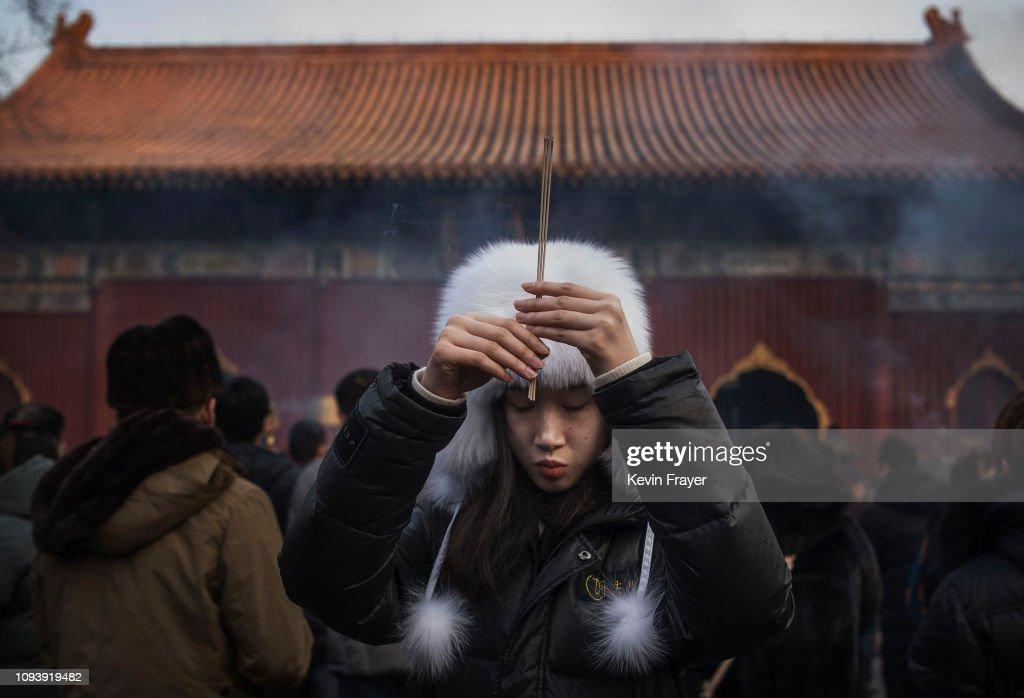China Marks Lunar New Year : Foto di attualità