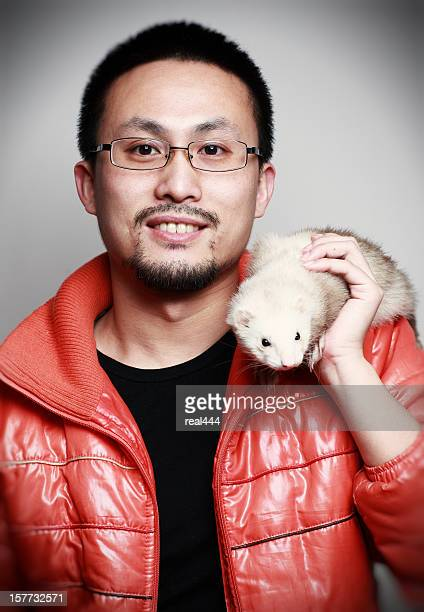 Chinese youth and mink