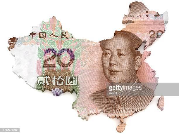 Mapa de Yuan chino