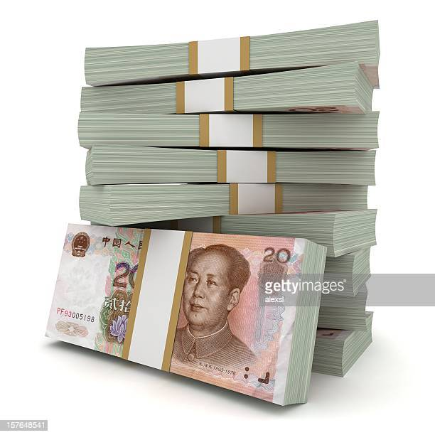 chinese yuan - chinese currency stock pictures, royalty-free photos & images