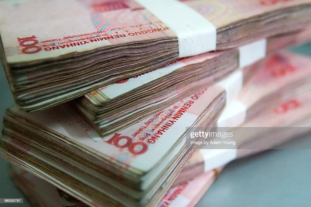 Chinese Yuan : Stock Photo