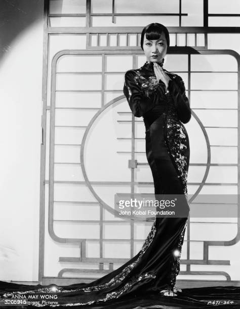 ChineseAmerican film star Anna May Wong in a publicity shot for 'Limehouse Blues' directed by Alexander Hall