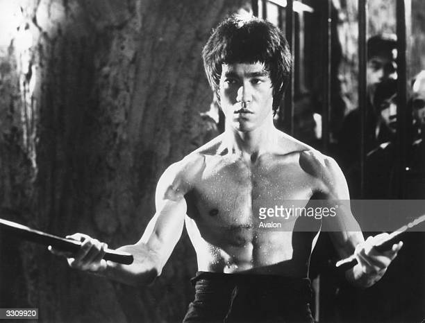 ChineseAmerican martial arts exponent Bruce Lee in a still from the film 'Enter The Dragon' directed by Robert Crouse for Warner Brothers