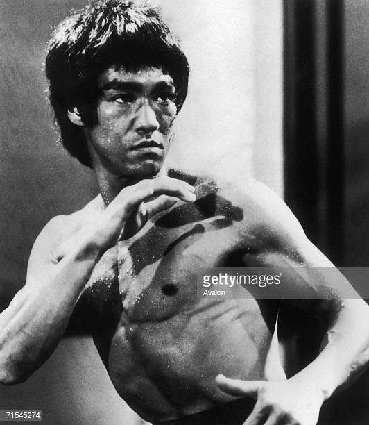 ChineseAmerican martial arts exponent Bruce Lee in a still from the film 'Enter The Dragon' directed by Robert Crouse for Warner Brothers 1973