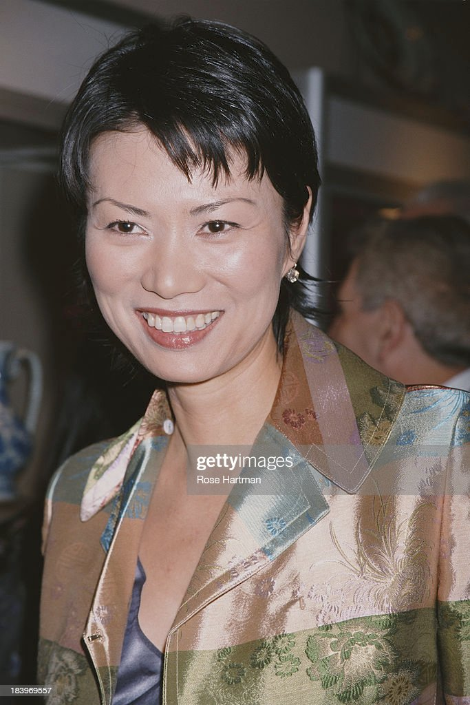 Chinese-born American businesswoman Wendi Deng Murdoch attends 'Asian Art Week' at the Park Avenue Armory, New York City, 2000.