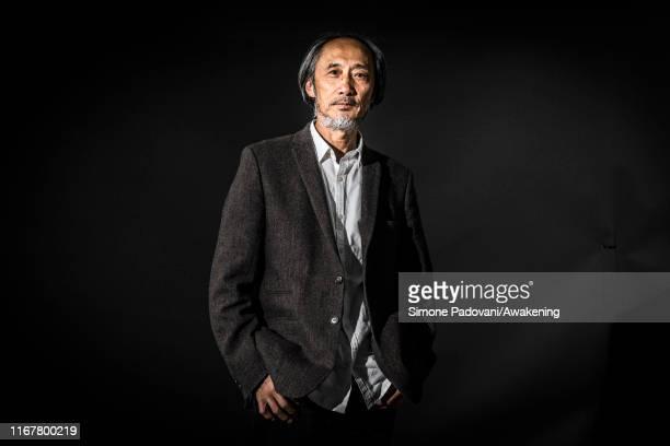 Chinese-born British writer Ma Jian during Edinburgh International Book Festival 2019 on August 13, 2019 in Edinburgh, Scotland.