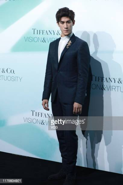 ChineseCanadian actor/singer Aarif Rahman attends Tiffany Co 'Vision Virtuosity' exhibition for celebrating the brand's 180 years of artistry on...