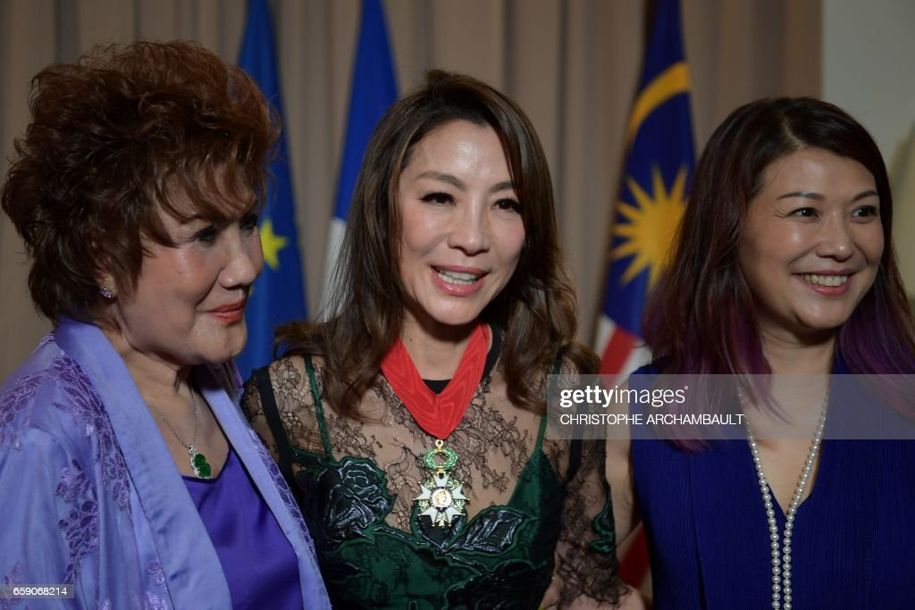Correction Chinese Malaysian Actress Michelle Yeoh Poses For News Photo Getty Images
