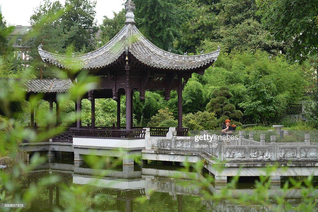 Chinesischer Garten Bethmannpark Frankfurt Am Main Hessen