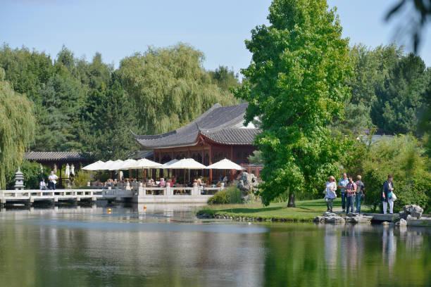 Chinesischer Garten Iga Marzahn Berlin Deutschland Pictures Getty
