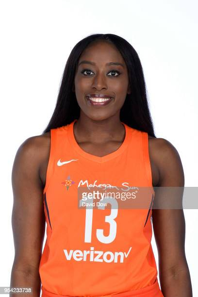 Chiney Ogwumike of the Connecticut Sun poses for a head shot at WNBA Media Day at Mohegan Sun on May 2 2018 in Uncasville Connecticut NOTE TO USER...