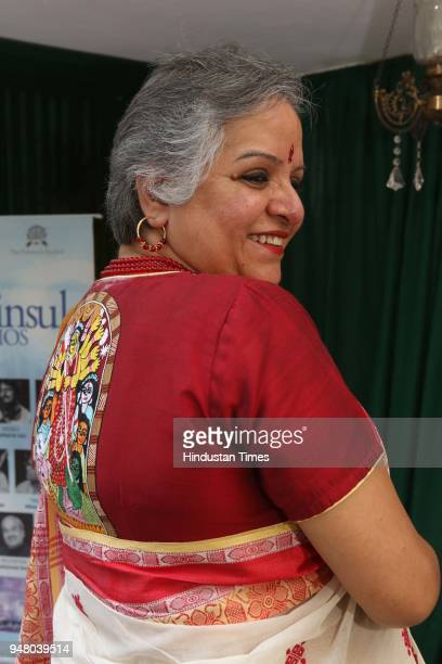 Chinna during a lunch party on the occasion of Bengali New Year hosted by the designer Pranay Baidya at D85 Dron Marg Defence Colony on April 15 2018...