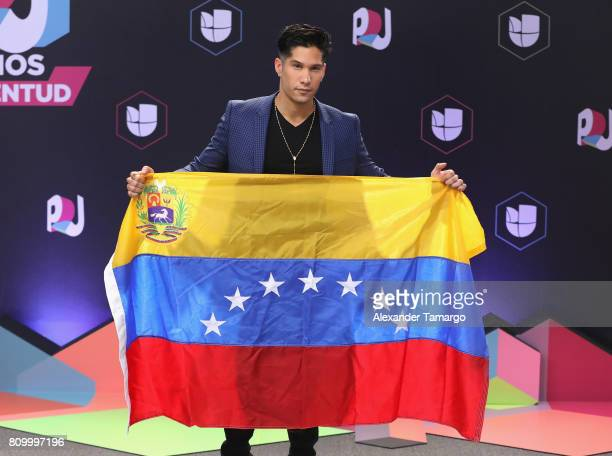 Chino MIranda attends the Univision's 'Premios Juventud' 2017 Celebrates The Hottest Musical Artists And Young Latinos ChangeMakers at Watsco Center...