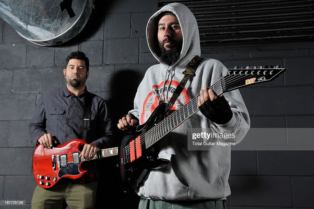 Deftones Portrait Shoot - February 2013