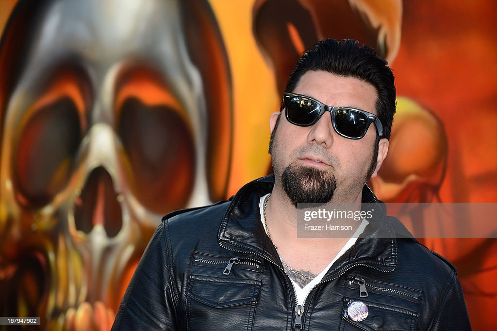Chino Moreno arrives at the 5th Annual Revolver Golden Gods Award Show at Club Nokia on May 2, 2013 in Los Angeles, California.