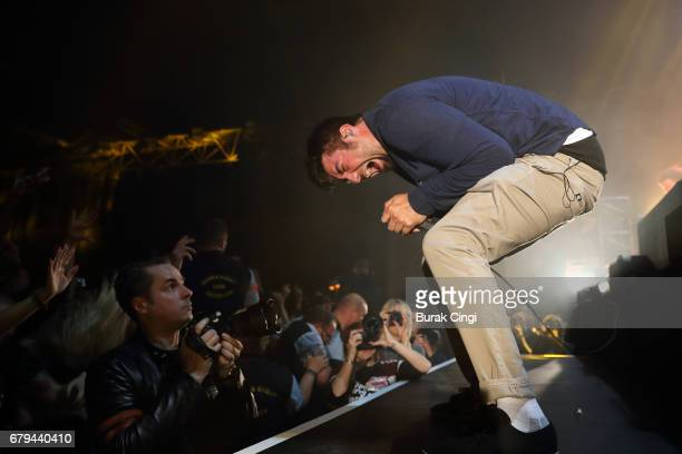 Chino Moreno of Deftones performs at Alexandra Palace on May 5 2017 in London England