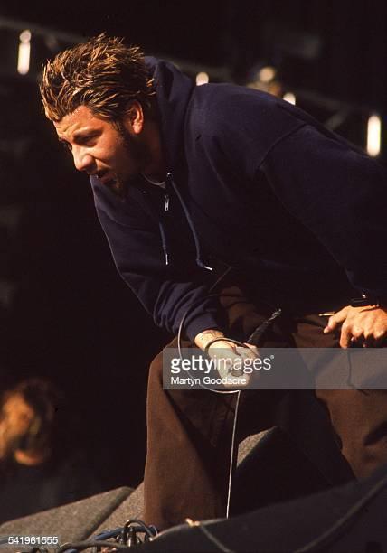 Chino Moreno of Deftones performs on stage United Kingdom 1997